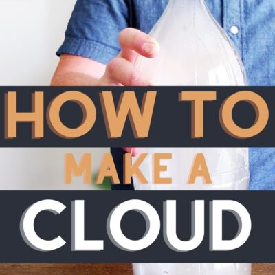 3 Easy Ways To Make a Cloud in a Bottle