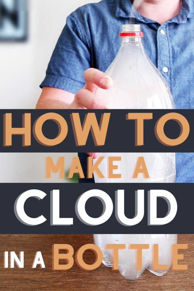how to make a cloud in a bottle
