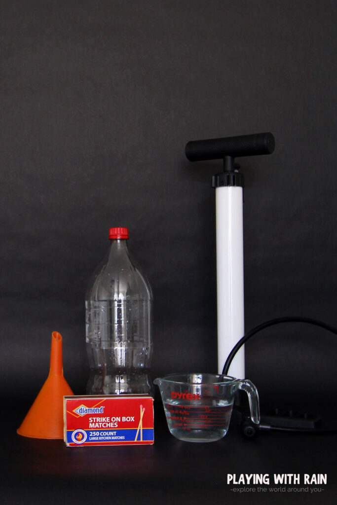 supplies needed to make a cloud in a bottle from home