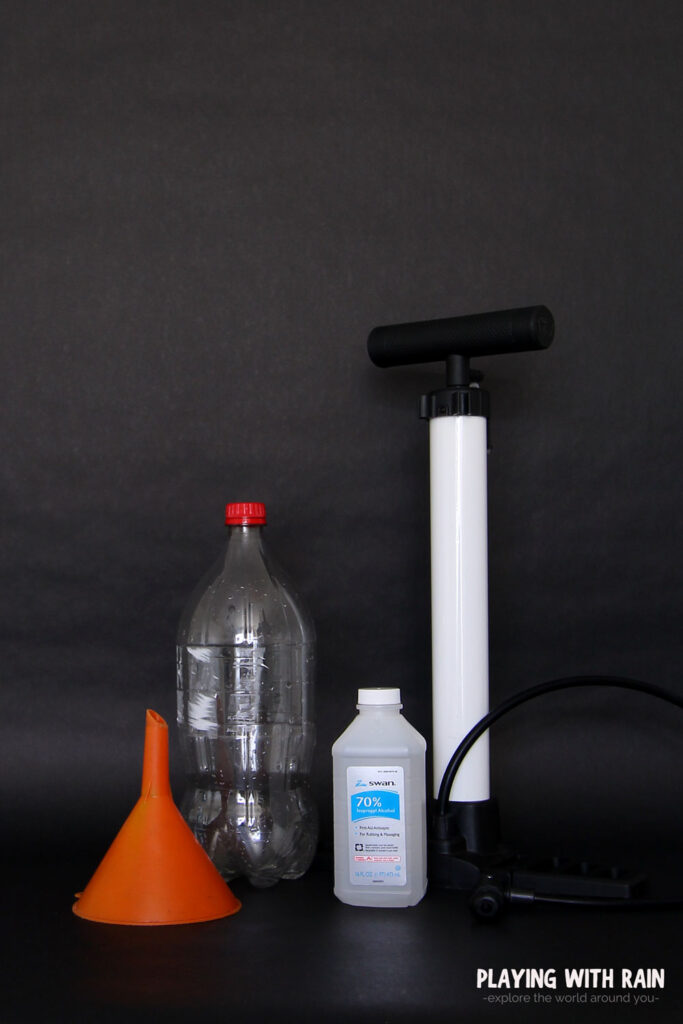 supplies needed for the best cloud in a bottle experiment
