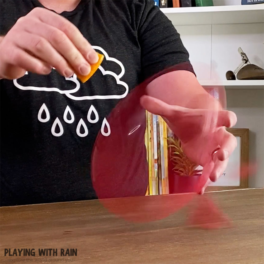 How to pop a balloon without touching it