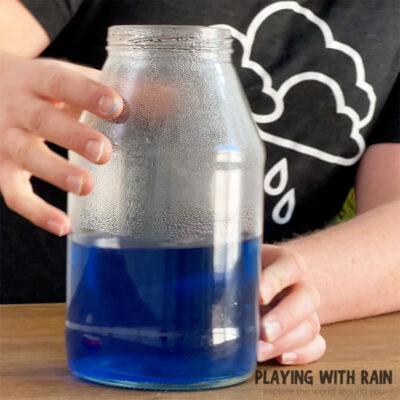 Rain in a Bottle Experiment