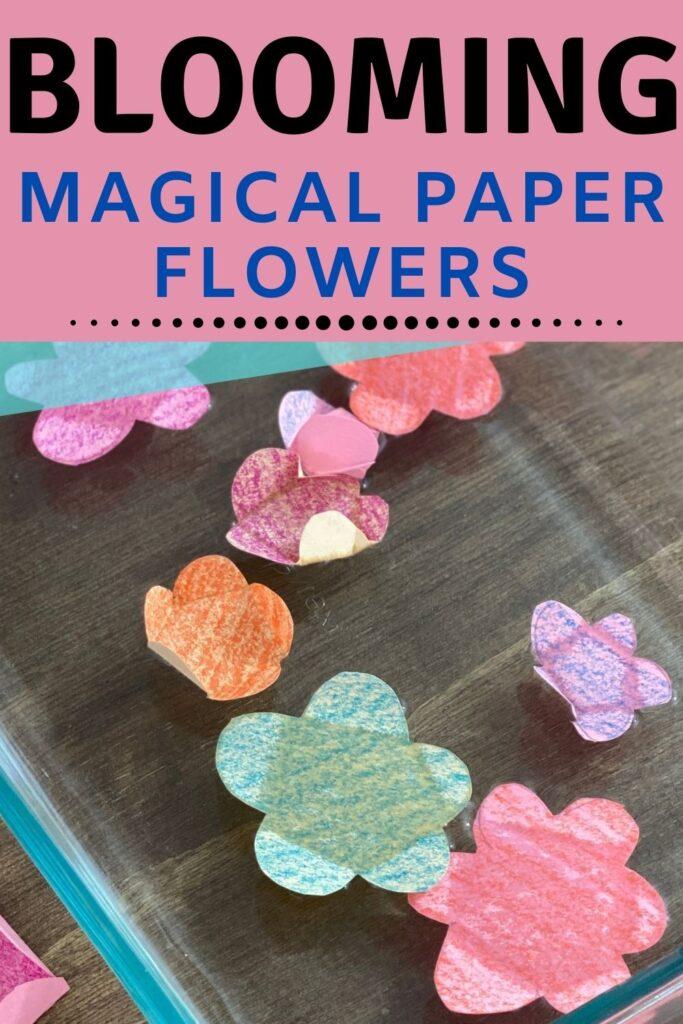 Super fun flower making activity for kids