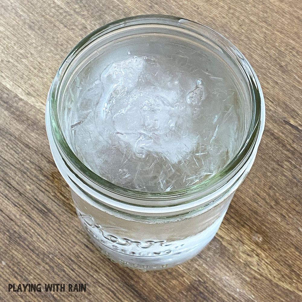 How to freeze water fast experiment