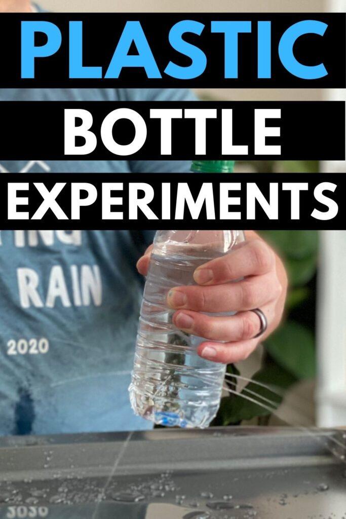 Plastic bottles make super cool experiments
