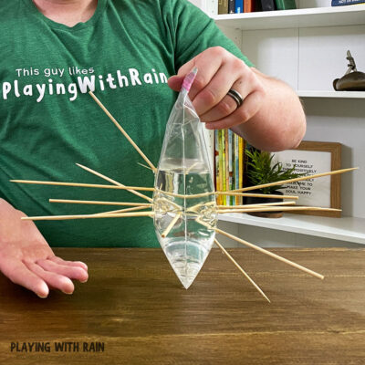 Leak-Proof Bag Experiment