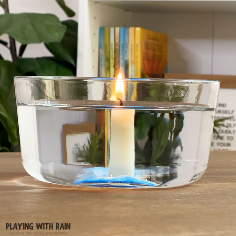 Candle water experiment