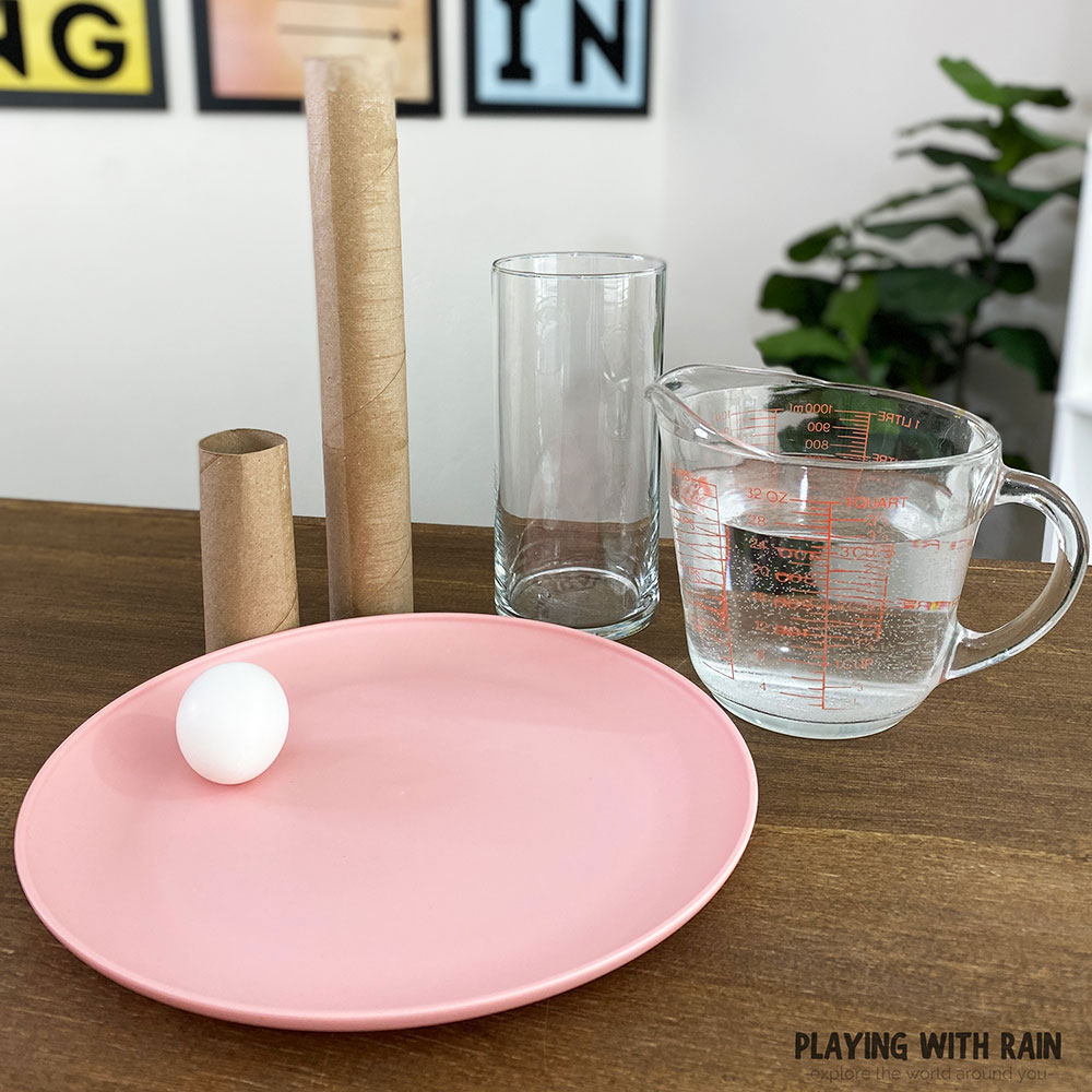 Create an egg drop challenge with home supplies