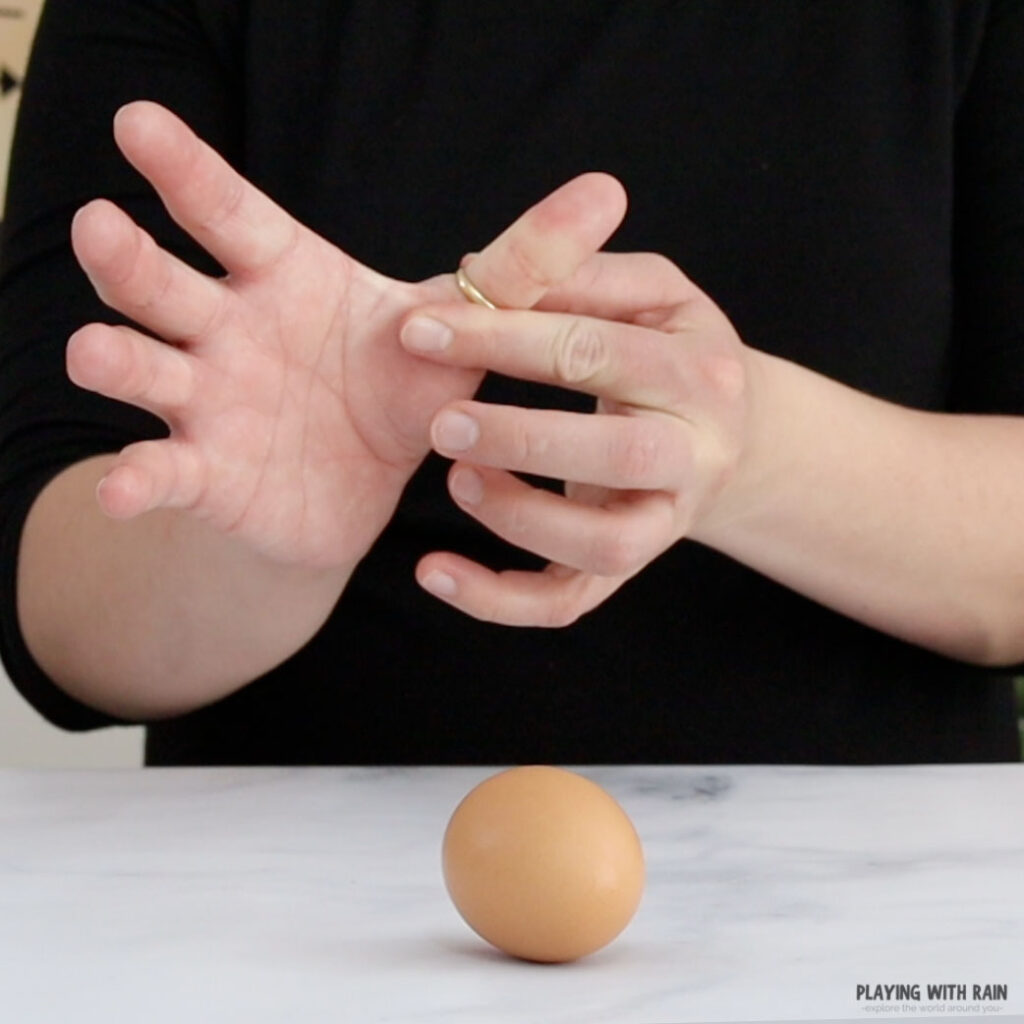 Slide a ring onto your finger
