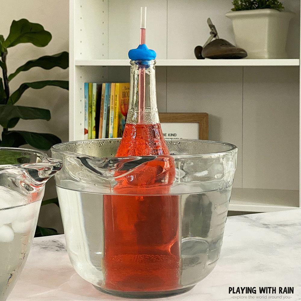 Easy DIY homemade bottle thermometer